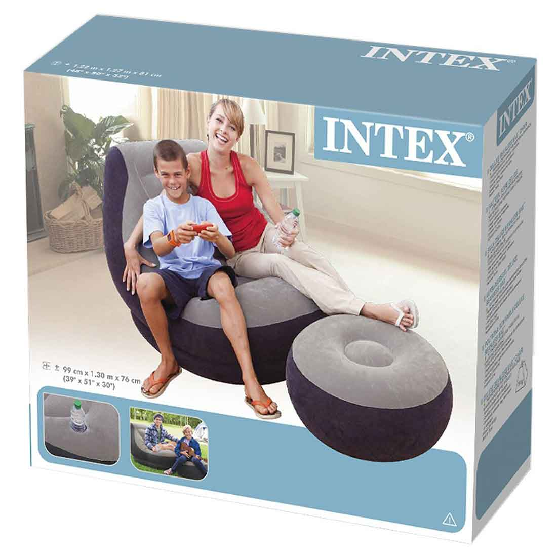 Air Sofa Price In Bangladesh: Inflatable Ultra Lounge Chair And Ottoman Set Price In