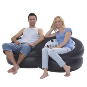 Double Seat Chair Inflatable Sofa