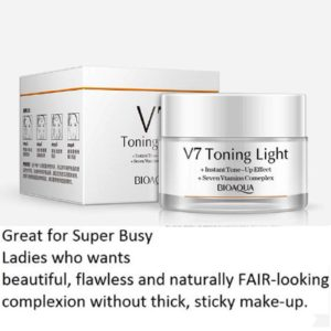 BIOAQUA V7 Toning Light Cream