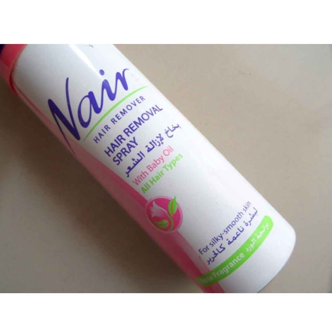 Nair Hair Removal Spray With Baby Oil 200ml Price In Bangladesh
