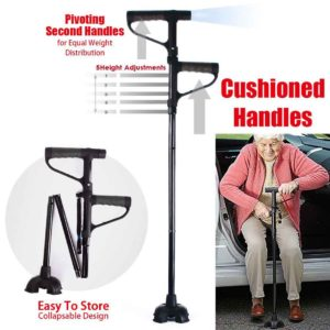 My Get Up Go Cane Two Handle Walking Cane