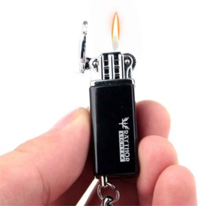 Raythor Portable Gas Lighter With Keychain