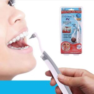 Sonic Tooth Stain Eraser Plaque Remover