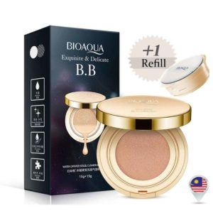 BIOAQUA Air Cushion BB Cream Concealer Foundation Bare Make Up[15g+15g]