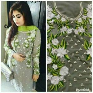Embroidery Dress 1