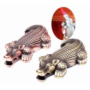 Crocodile Shaped Butane Cigarette Lighter