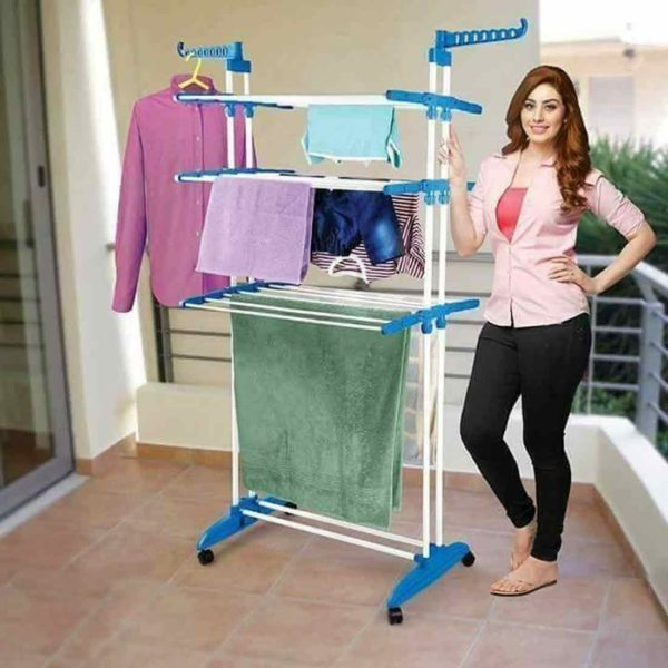 Three Layer Cloth Drying Rack
