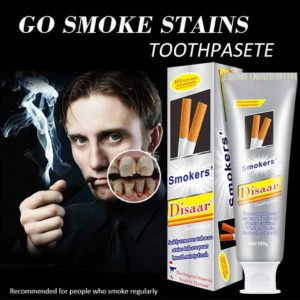 Smokers Disaar Toothpaste