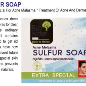 Bio Active Acne Melasma Sulfur Soap