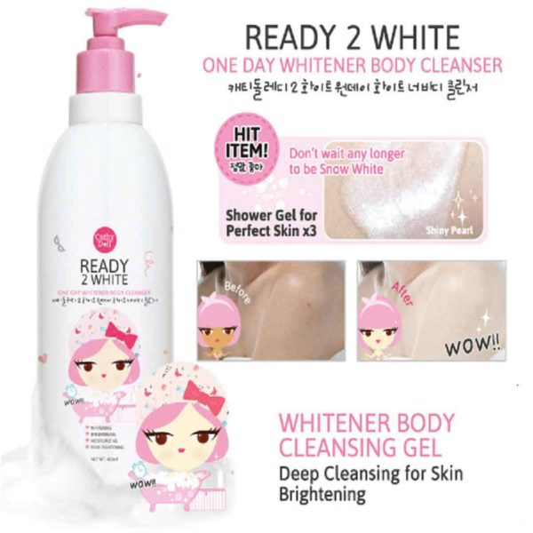 Cathy Doll Ready 2 White One Day Whitening Body Cleanser