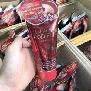 Red Apple Collagen Face Wash