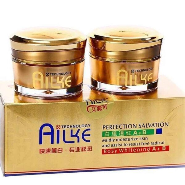 AILKE Salvation Rosy Whitening Day And Night Cream